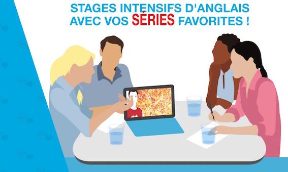 Apprendre l'anglais avec les séries: stages ado