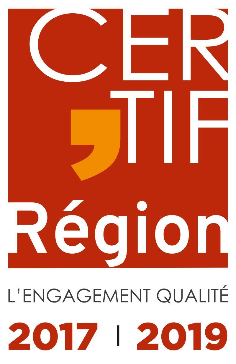 certification qualité region