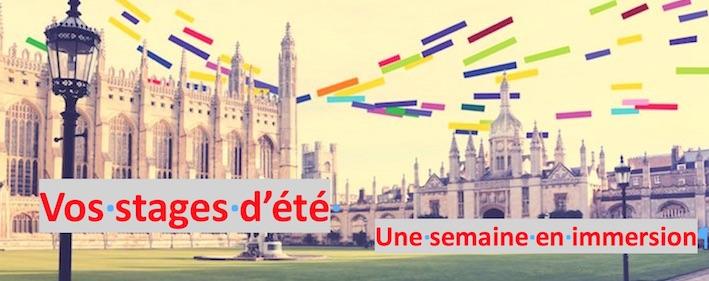 Stage d'été anglais à Montpellier