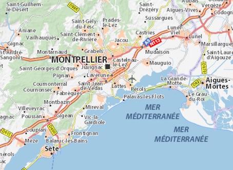 Bassin de Montpellier et Hérault