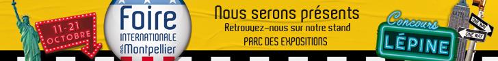 VICTORIA'S English partenaire officiel de la Foire Internationale de Montpellier 2019