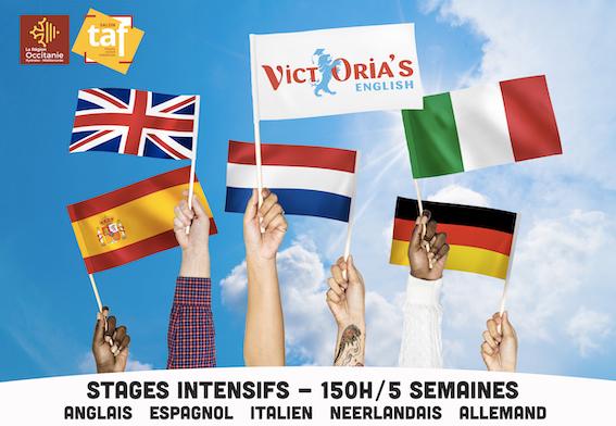 5 semaines pour se spécialiser en langues avec VICTORIA'S English Montpellier